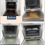 cleaning of Oven